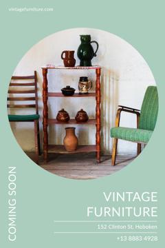 Vintage furniture shop