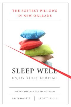 Textile Pillows Offer on White