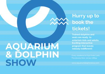 Aquarium & Dolphin show Announcement