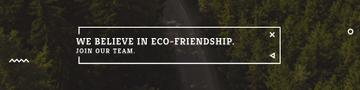 Eco-friendship concept