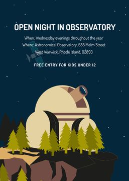 Open night in Observatory event