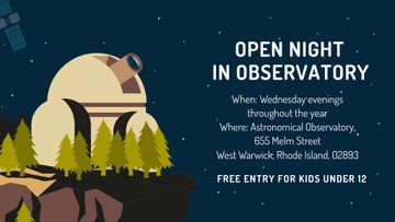 Open night event in Observatory