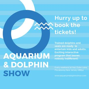 Aquarium and Dolphin show Announcement