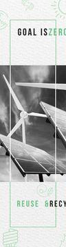 Renewable Energy Wind Turbines and Solar Panels