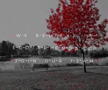 Eco-friendship concept