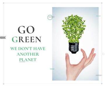 Citation about green planet