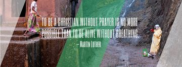 Religion citation about Christian faith