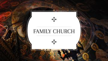 Family church poster