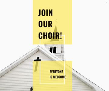 Invitation to a religious choir