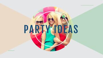 Party ideas poster