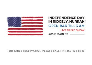 Independence day in Ridgely