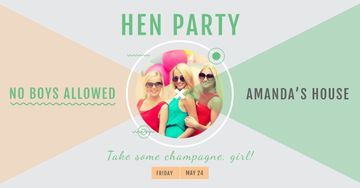 Hen party for girls in Amanda's House