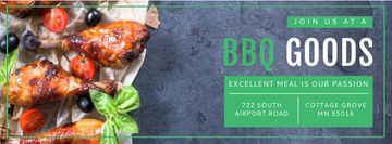 BBQ Food Offer with Grilled Chicken