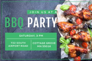 BBQ party Annoucement