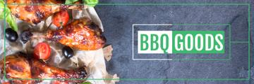 BBQ Food Offer Grilled Chicken