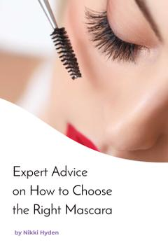 Expert advice on how to choose the right mascara