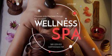 Wellness spa website