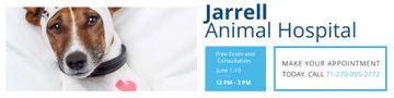 Animal Hospital with cute Dog