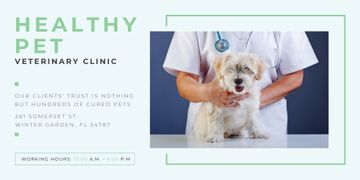 Healthy pet veterinary clinic