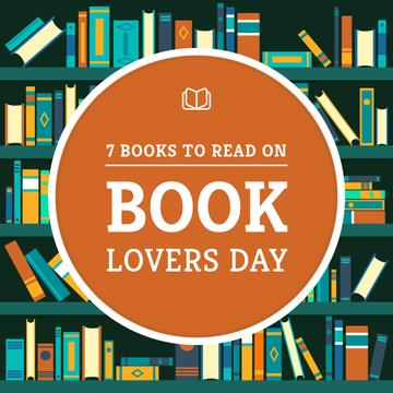 Book Lovers Day with Bookshelves