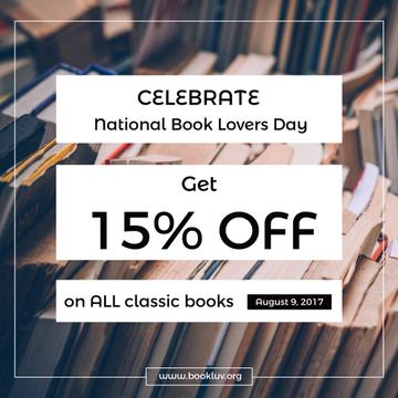 Book Lovers day Bookshop offer