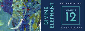 Divine elephant exhibition Annoucement