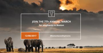 Annual march for Elephants Announcement