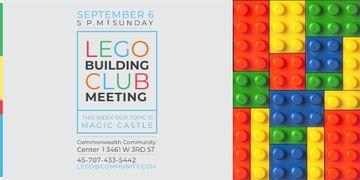Lego Building Club Meeting with Constructor Bricks