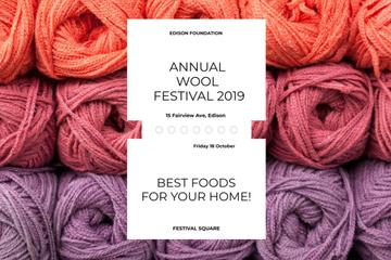 Annual wool festival