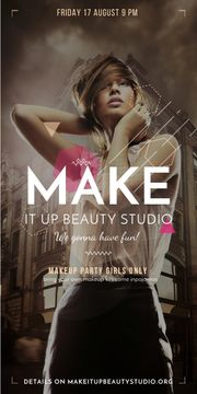 Makeup party for girls