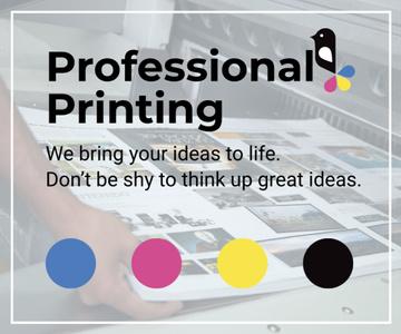 Professional printing poster