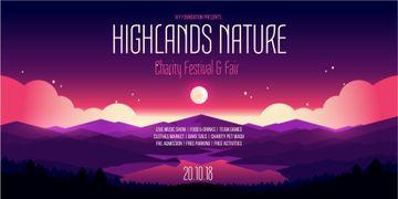 Charity festival and fair announcement