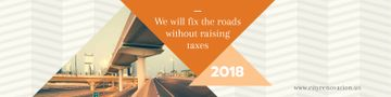 Fixing roads Ad