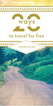 20 ways to travel poster