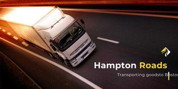 Transporting company advertisement