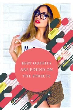 Best outfits are found on the streets