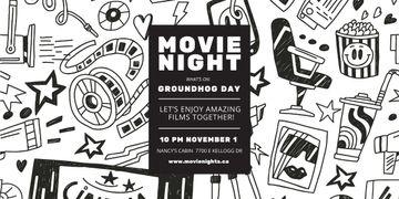 Movie night event