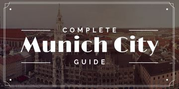 Munich City Guide with Old Buildings View