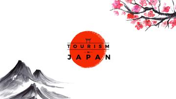 Tourism in Japan poster
