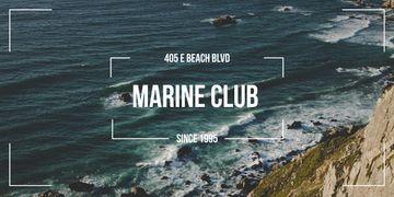 Marine club advertisement