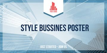Style business poster