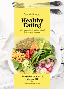 Healthy diet Vegetable salad