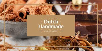 dutch handmade chocolate poster