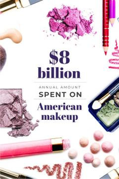 American makeup statistics