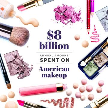 Makeup statistics with Cosmetics Kit