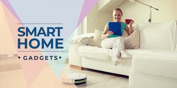 smart home gadgets poster