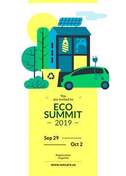 Eco Summit Invitation Sustainable Technologies