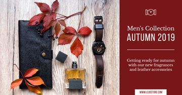 Autumnal Men's Collection Ad Leather Wallet