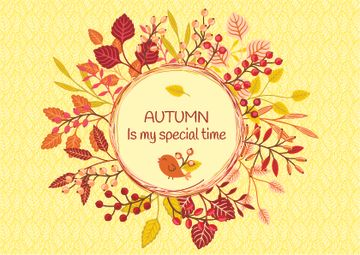 Autumn is my special time banner