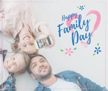 Parents with Daughter on Family Day
